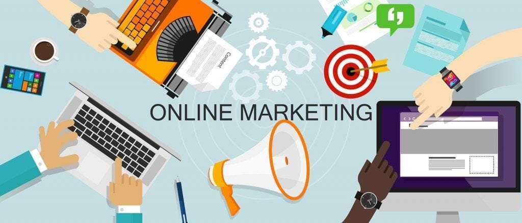 التسويق عبر الإنترنت